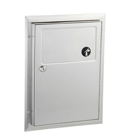 B-354 - Partition-Mounted Sanitary Napkin Disposal