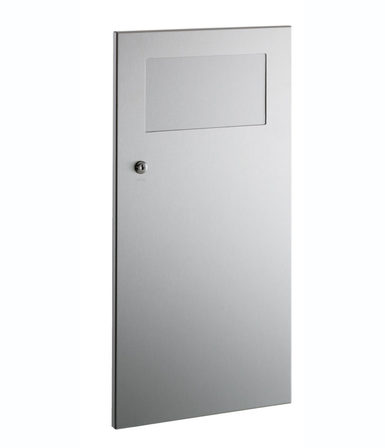 B-35633 - Recessed Waste Receptacle with Disposal Door