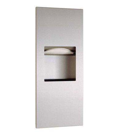 B-36903 - Trimline Recessed Paper Towel Dispenser / Waste Receptacle